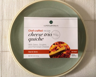 Lunds & Byerlys Cheese Trio Quiche
