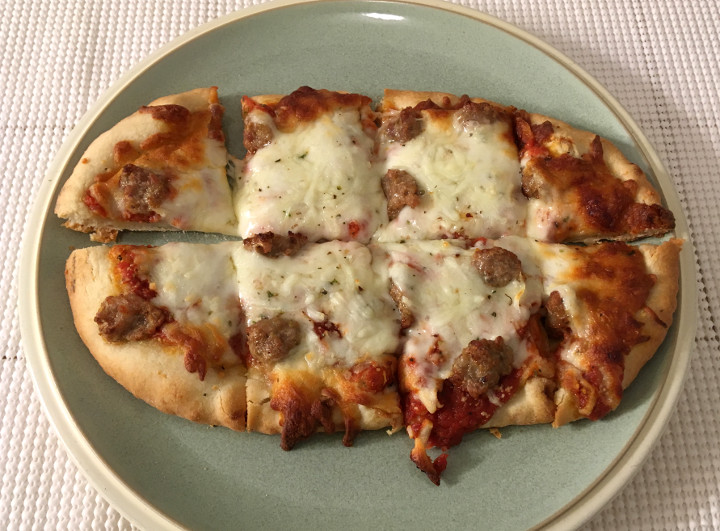 Lunds & Byerlys Artisan Flatbread Sausage Pizza