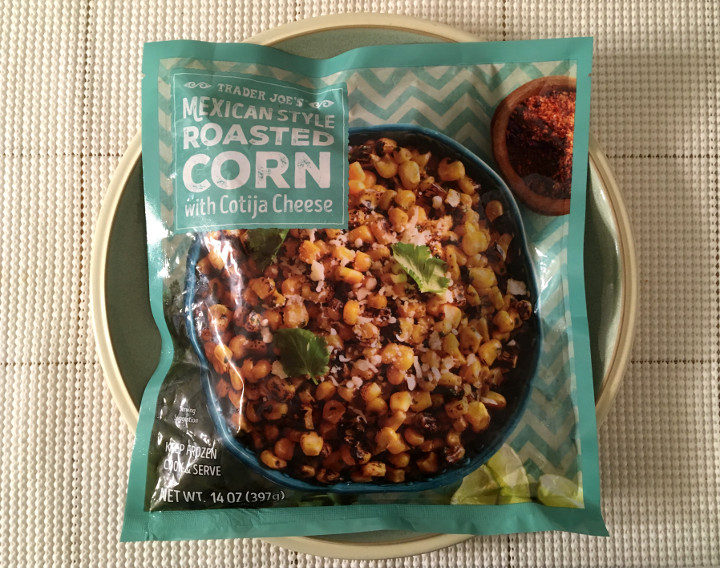 Trader Joe's Mexican Style Roasted Corn with Cotija Cheese