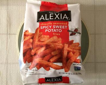 Alexia Chipotle Seasoned Spicy Sweet Potato Fries Review
