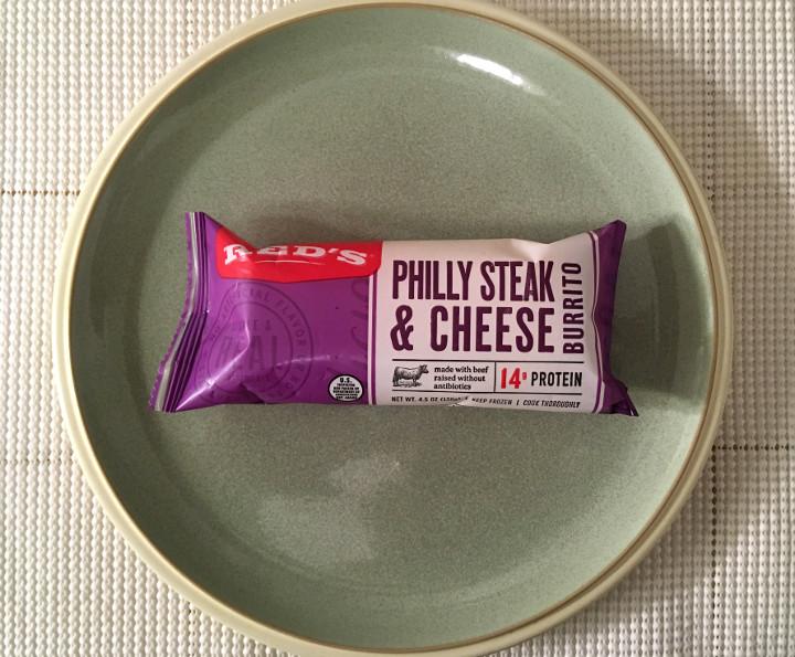 Red's Philly Steak & Cheese Burrito
