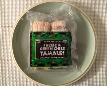 Trader Joe's Handcrafted Cheese & Green Chile Tamales Review
