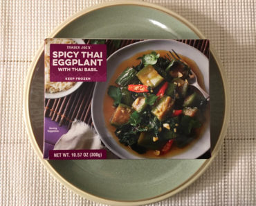 Trader Joe's Spicy Thai Eggplant with Thai Basil