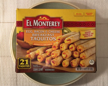 El Monterey Egg, Bacon & Cheese Breakfast Taquitos