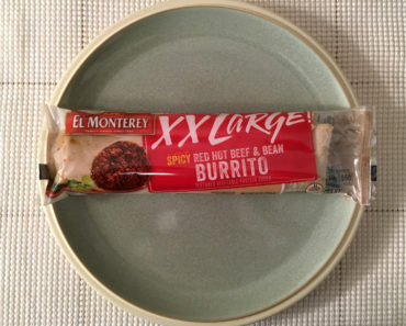 El Monterey XX Large Spicy Red Hot Beef & Bean Burrito