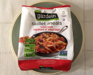 Gardein Italian style Rigatoni n' Saus'age Skillet Meal