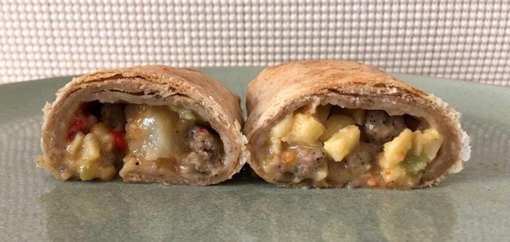 Good Food Made Simple Turkey Sausage Breakfast Burrito