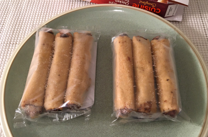 Lean Cuisine Asian-Style Chicken Spring Rolls