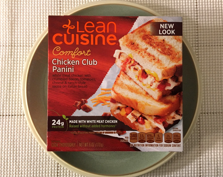 Lean Cuisine Comfort Chicken Club Panini