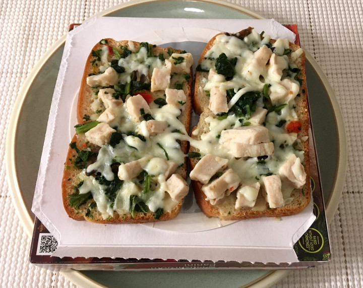 Lean Cuisine Comfort Chicken, Spinach & Mushroom Panini