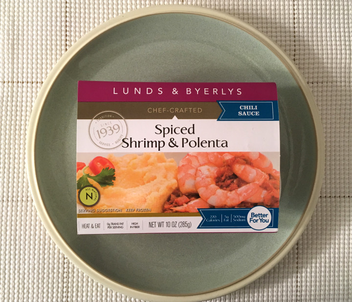 Lunds & Byerlys Spicy Shrimp & Polenta