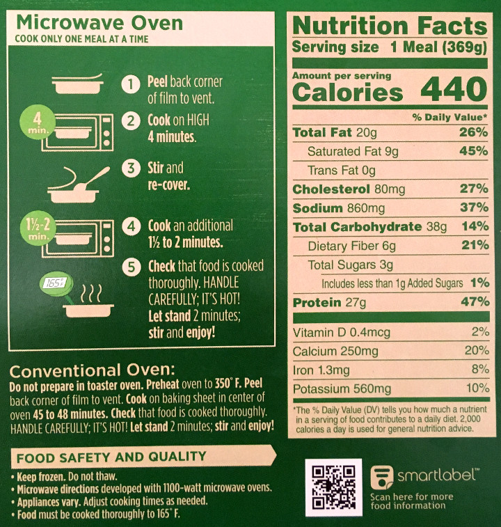 Marie Callender's Fettuccini with Chicken & Broccoli Review