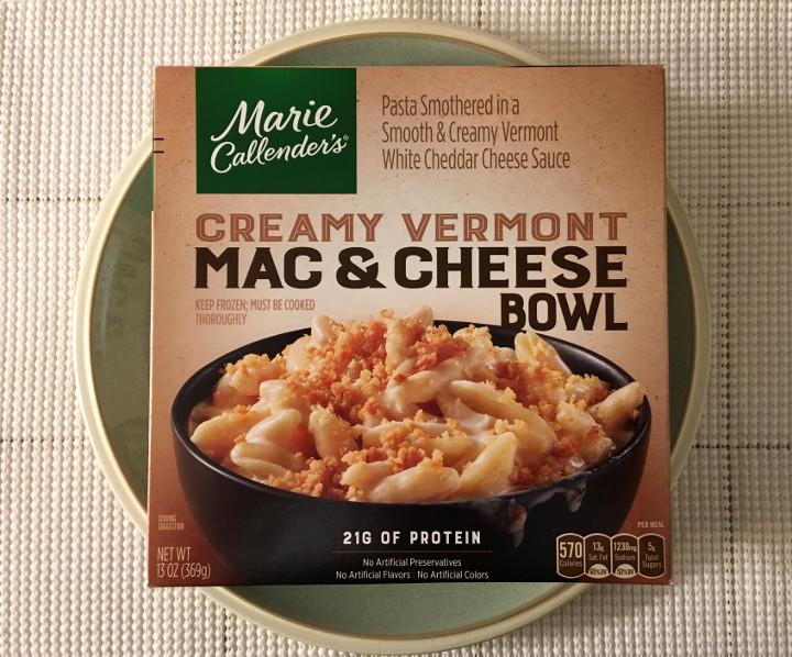 Marie Callender's Creamy Vermont Mac & Cheese Bowl