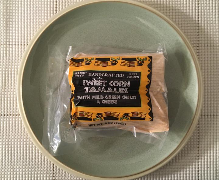 Trader Joe's Handcrafted Sweet Corn Tamales