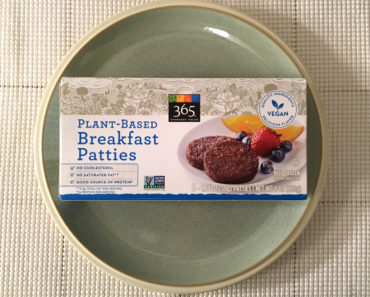 365 Everyday Value Plant-Based Breakfast Patties