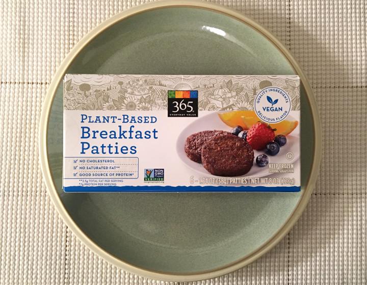 365 Everyday Value Plant-Based Breakfast Patties