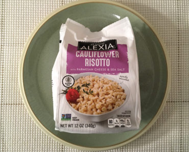 Alexia Cauliflower Risotto with Parmesan Cheese & Sea Salt