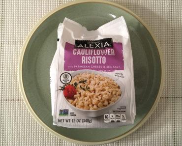 Alexia Cauliflower Risotto with Parmesan Cheese & Sea Salt Review