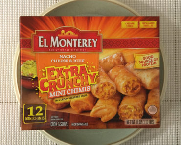 El Monterey Nacho Cheese & Beef Mini Extra Crunchy Chimis