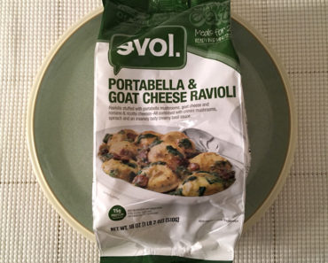 Evol Portabella & Goat Cheese Ravioli (Meals for 2)
