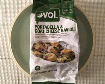 Evol Portabella & Goat Cheese Ravioli (Meals for 2) Review