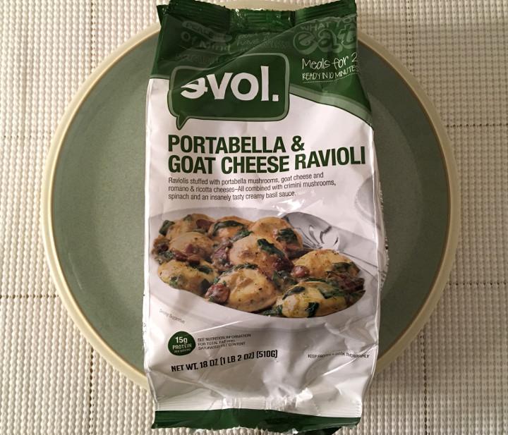 Evol Portabella & Goat Cheese Ravioli (Meals for 2)