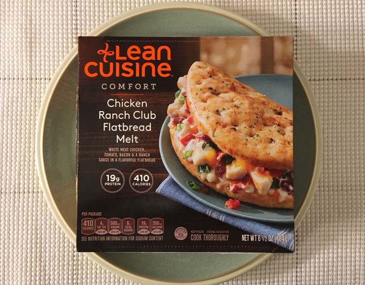 Lean Cuisine Comfort Chicken Ranch Club Flatbread Melt
