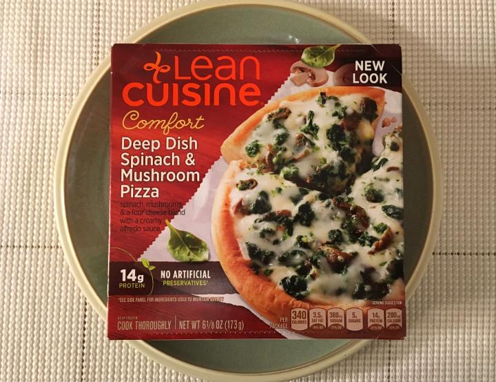 Lean Cuisine Comfort Deep Dish Spinach & Mushroom Pizza