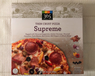 365 Everyday Value Supreme Thin Crust Pizza