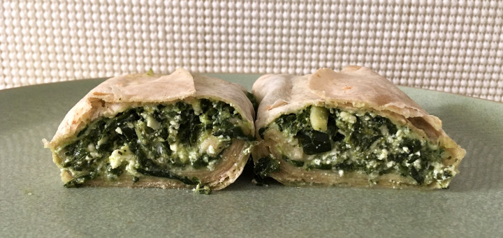 Amy's Greek Spanakopita Wrap