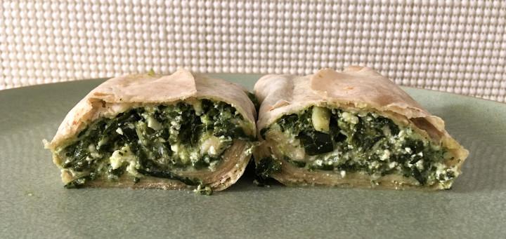 Amy's Greek Spanakopita Wrap