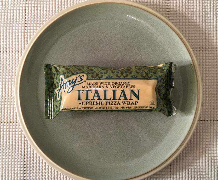 Amy's Italian Supreme Pizza Wrap