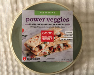 Good Food Made Simple Power Veggies Flatbread Breakfast Sandwiches