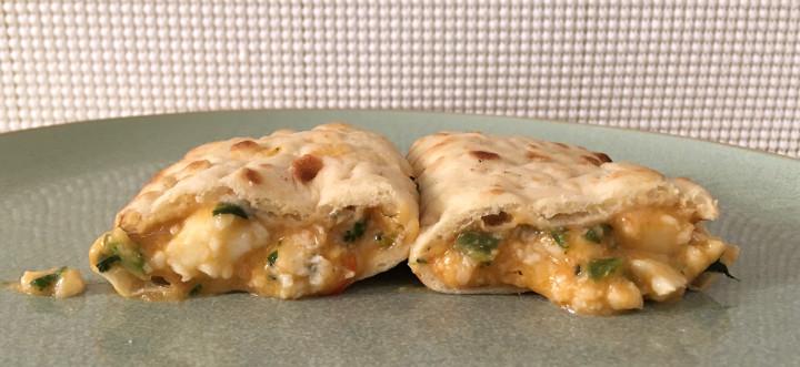 Good Food Made Simple Power Veggies Flatbread Breakfast Sandwiches