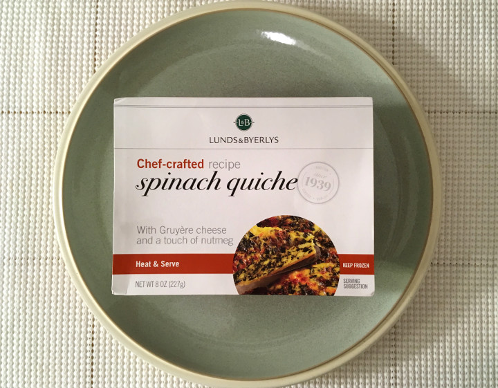 Lunds & Byerlys Spinach Quiche