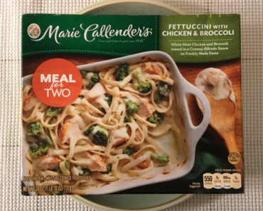 Marie Callender's Fettuccini with Chicken & Broccoli (Meal for Two)