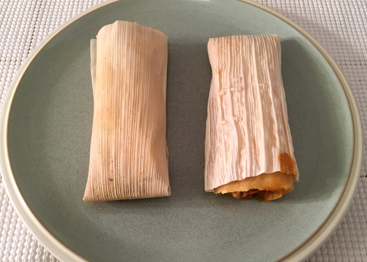 Trader Joe's Handcrafted Chicken & Cheese Tamales