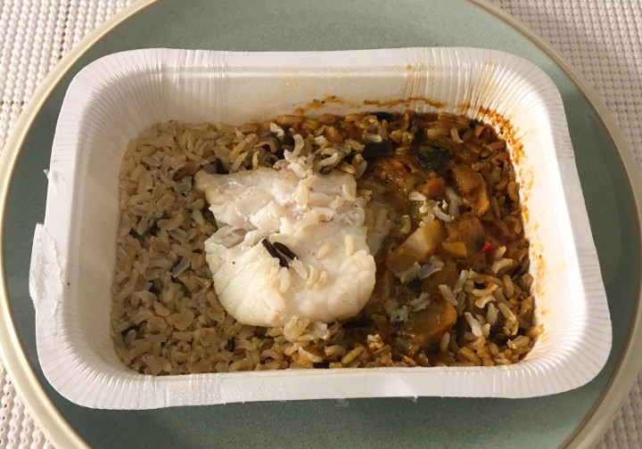 Trader Joe's Cod Provençale with Ratatouille & Rice