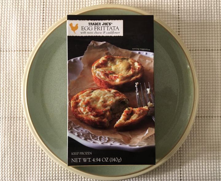 Trader Joe's Egg Frittata with Swiss Cheese & Cauliflower
