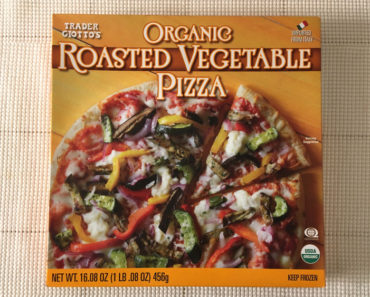 Trader Joe's Organic Roasted Vegetable Pizza