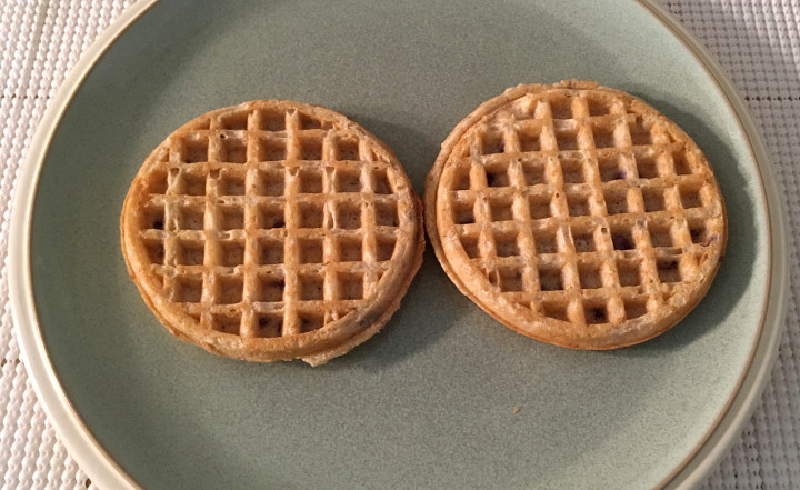 Trader Joe's Naturally Flavored Blueberry Waffles