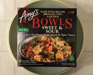 Amy's Sweet & Sour Bowl in a Szechuan-Style Sweet & Spicy Sauce