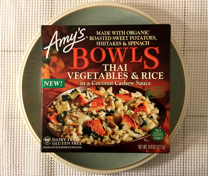 Amy's Thai Vegetables & Rice in a Coconut Cashew Sauce