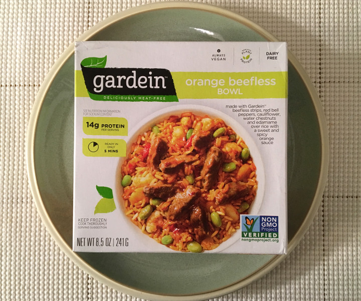 Gardein Orange Beefless Bowl