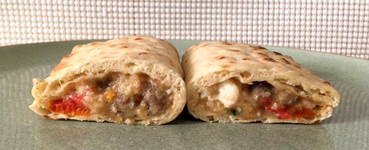 Good Food Made Simple Turkey Sausage Flatbread Breakfast Sandwiches