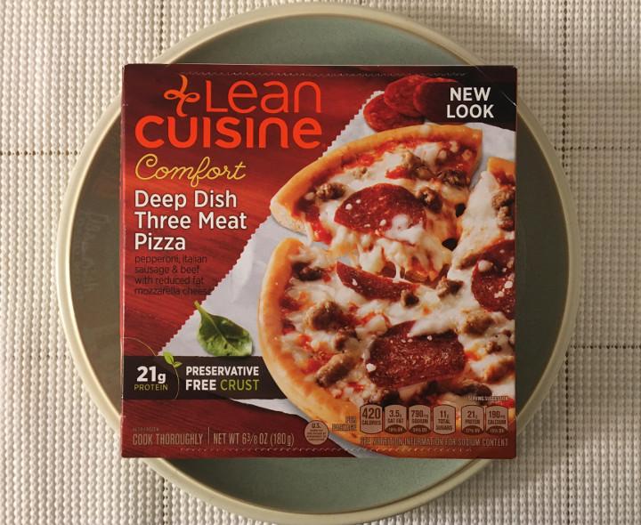 Lean Cuisine Comfort Deep Dish Three Meat Pizza