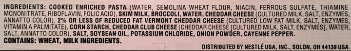 Lean Cuisine Favorites Broccoli Cheddar Rotini