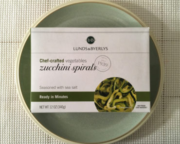 Lunds & Byerlys Zucchini Spirals Review