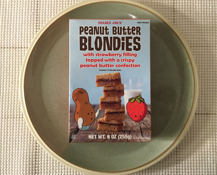 Trader Joe's Peanut Butter Blondies