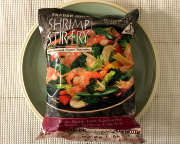 Trader Joe's Shrimp Stir-Fry with Gourmet Pepper Seasoning